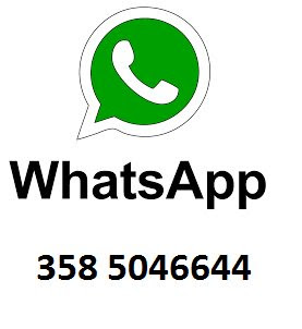 whatsapp 358 5046644